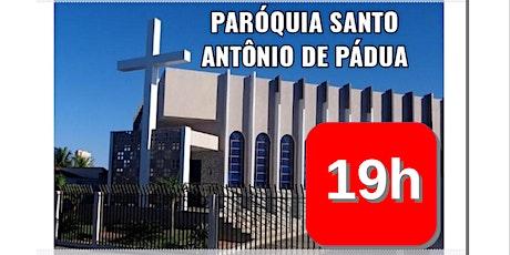Santa Missa na Matriz Santo Antônio de Pádua - 19h ingressos
