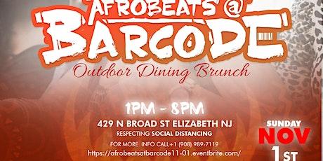 Afrobeats Brunch @ Barcode November 1st 2020 tickets