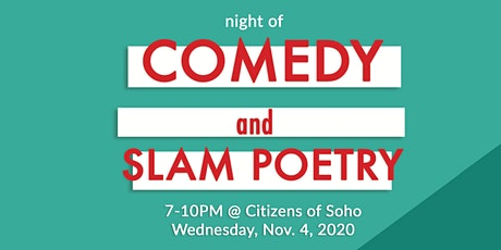 Citizens Night of Comedy and Slam Poetry tickets