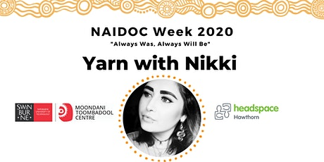 NAIDOC: Yarn with Nikki tickets