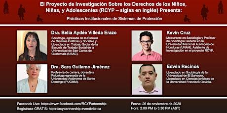 Prácticas Institucionales de los Trabajadores de Protección Infantil entradas