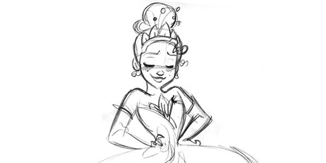 60min Disney Princess Sketching Art Lesson - Tiana @12PM (Ages6+) tickets