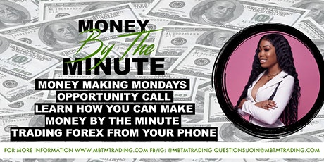 Money Making Mondays! A Forex & Crypto Event: Make Money From Home tickets