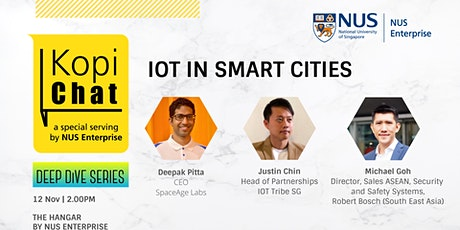 Kopi Chat Deep Dive - IOT in Smart Cities