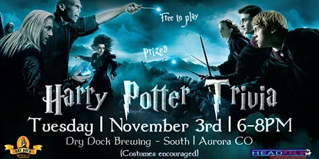 Harry Potter Trivia at Dry Dock Brewing- South Dock tickets