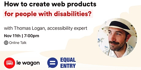 How to create web products for people with disabilities?-Talk with T. Logan tickets