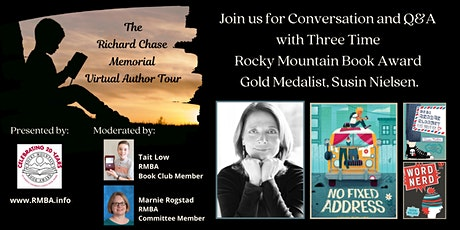 Richard Chase Memorial Author Tour featuring Susin Nielsen tickets