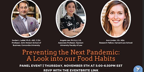 Preventing the Next Pandemic: A Look into our Food Habits tickets
