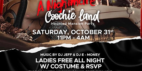 Nightmare in Coochie Land Mansion Party tickets
