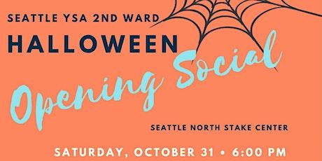 Halloween Opening Social: October 31, 2020 tickets