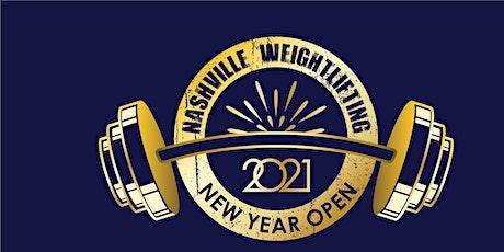 2021 Nashville Weightlifting New Year Open tickets