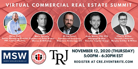 Virtual Commercial Real Estate Summit tickets