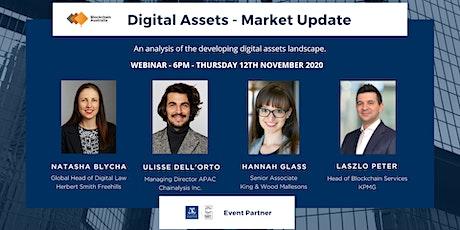 Market Update - The Regulatory And Digital Asset Landscape tickets