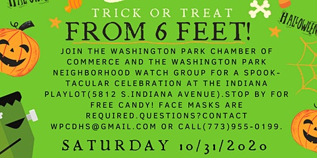 Treats and Sweets from 6 Feet! tickets