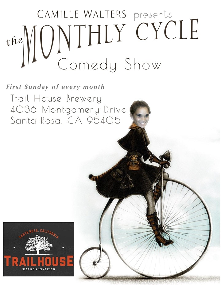 The Monthly Cycle Comedy Show image