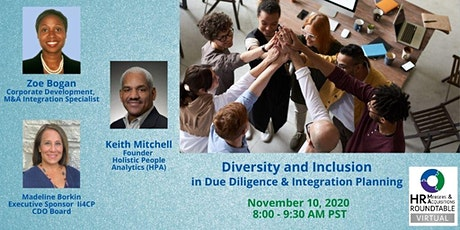 HR M&A RT - Diversity, Equity & Inclusion in DD & Integration Planning tickets