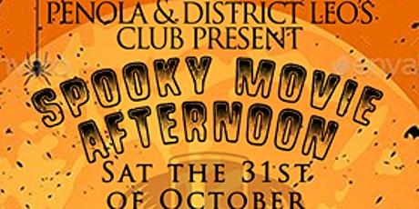 Spooky Movie Afternoon- SCOOB MOVIE tickets