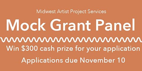 Mock Grant Panel tickets