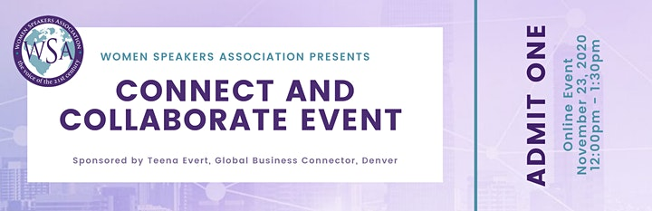 CONNECT AND COLLABORATE VIRTUAL EVENT image