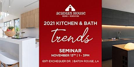 2021 Kitchen & Bath Trends tickets