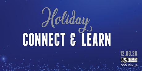 NSN Raleigh Holiday Virtual Connect + Learn -12/3- 6:30 p tickets