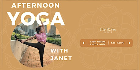 Afternoon Yoga with Janet tickets
