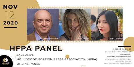 AWFF Virtual Panel - HFPA Panel tickets
