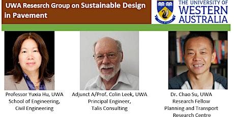 UWA Workshop on Sustainable Design in Pavement tickets