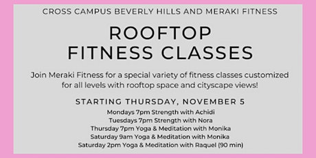 Rooftop Fitness with Meraki Fitness tickets