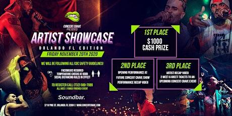 Concert Crave Artist Showcase - ORLANDO, FL 11.20.20 tickets