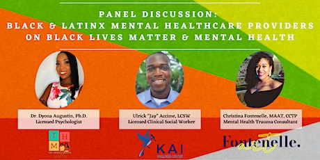Panel: Black & LatinX Mental Healthcare Providers on BLM & Mental health tickets