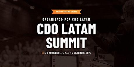 CDO LATAM SUMMIT 2020 entradas