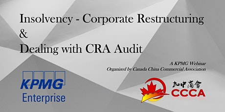 Insolvency - Corporate Restructuring & Dealing with CRA Audit tickets