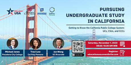 Pursuing Undergraduate Study in California tickets