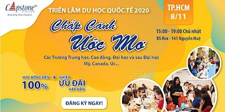 """HCMC - TRIỂN LÃM GIÁO DỤC QUỐC TẾ 2020: """"CHẮP CÁNH ƯỚC MƠ DU HỌC"""" tickets"""