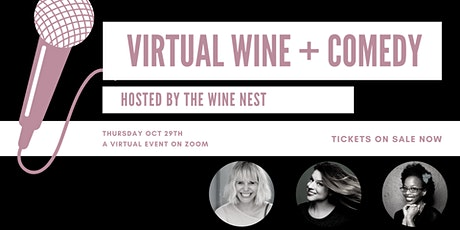 Exclusive Yelp! Virtual Wine and Comedy Night tickets
