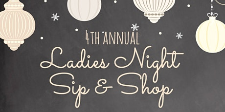 4th Annual Ladies Night Sip & Shop at The Book Exchange tickets