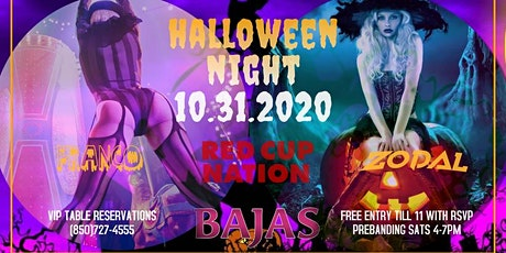 Halloween Night  at Bajas * SOLD OUT * tickets