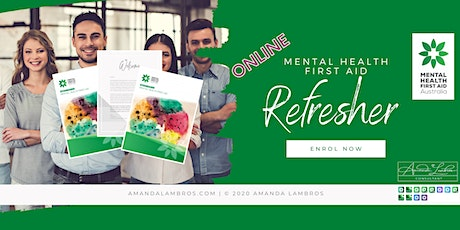 Mental Health First Aid Refresher - Online tickets