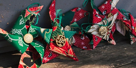 Sustainable Fabric Christmas Decor tickets