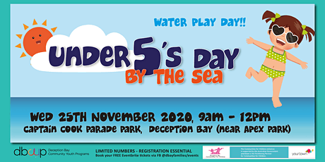 Under 5's Day By the Sea Water Play Day tickets