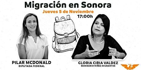 #EvoluciónMexicana Sonora Migración en Sonora boletos