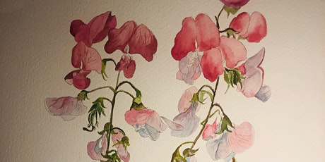 Watercolour painting for beginners ( Botanical themed ) tickets