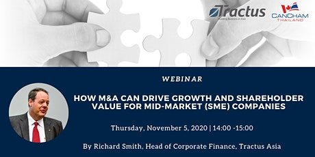 How M&A Can Drive Growth and Shareholder Value for SME Companies  tickets