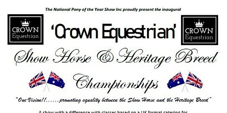 Crown Equestrian Show Horse & Heritage Breed Championships tickets