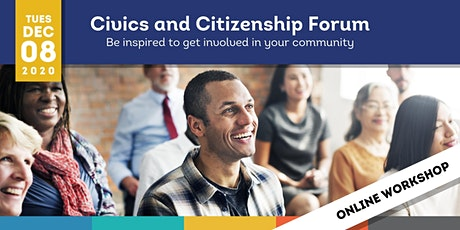 ONLINE - Civics and Citizenship Forum tickets