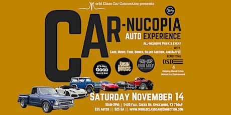 Car-nucopia: An Automotive Thanksgiving tickets