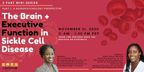 Cognitive Challenges in Sickle Cell Disease: Executive Function and Beyond tickets
