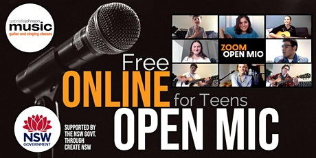 Online Open Mic tickets