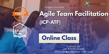 Agile Team Facilitation (ICP-ATF)  Virtual - Nov 2020 tickets